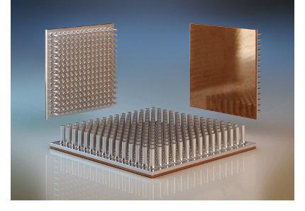 Aluminium Kupfer Kühlkörper